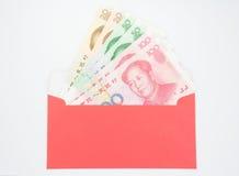 kinesiska pengar Arkivbilder