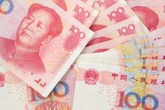 kinesiska pengar Arkivfoto