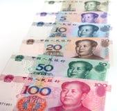 Kinesiska pengar Renminbi Royaltyfri Fotografi