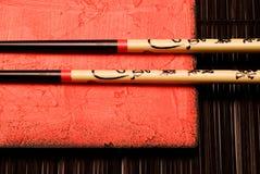 kinesiska pinnar Arkivfoto