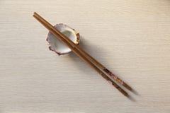 kinesiska pinnar Arkivbild