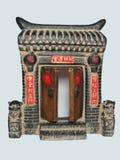 kinesiska portar Arkivfoton