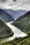Kinesiska River Valley Arkivbilder