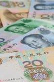 Kinesiska sedlar, kinesiska pengar, kinesiska dollar för backgro Royaltyfri Bild