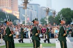 kinesiska soldater arkivfoto