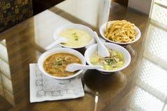 kinesiska soups Arkivfoto