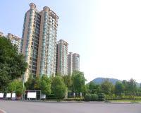 kinesiska städer Arkivbilder