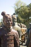kinesiska statyer arkivfoto