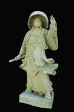 Kinesiska statyetter för skeppbarlaststen av Wat Bowonniwet Vihara Arkivbilder