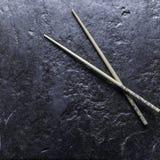 kinesiska sticks Fotografering för Bildbyråer