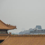 kinesiska tak Arkivbild
