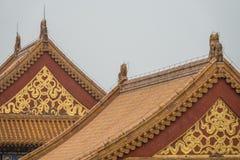 kinesiska tak Royaltyfria Bilder