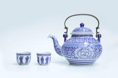 Kinesiska teauppsättningar Royaltyfri Fotografi