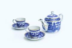 Kinesiska teauppsättningar Fotografering för Bildbyråer