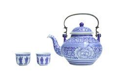 Kinesiska teauppsättningar Royaltyfria Foton