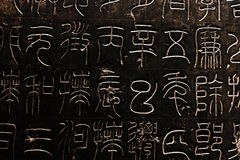 Kinesiska tecken Arkivfoton