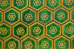 kinesiska tegelplattor Arkivbilder
