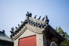Kinesiska tempel Arkivfoton