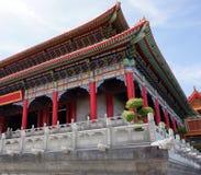 Kinesiska tempel i Thailand Royaltyfri Bild