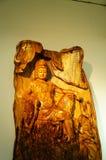 Kinesiska trähantverk Arkivbilder