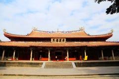 Kinesiska traditionella buddistiska tempel, Kaiyuan tempel Arkivbilder