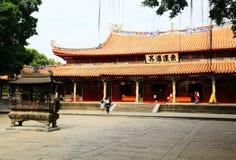 Kinesiska traditionella buddistiska tempel, Kaiyuan tempel Arkivfoto