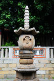 Kinesiska traditionella buddistiska tempel, Kaiyuan tempel Royaltyfria Foton