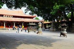 Kinesiska traditionella buddistiska tempel, Kaiyuan tempel Royaltyfria Bilder
