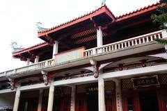 Kinesiska traditionella buddistiska tempel, Kaiyuan tempel Arkivbild