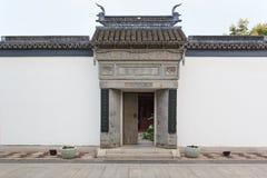 Kinesiska traditionella byggnader, anhui stil Royaltyfri Fotografi