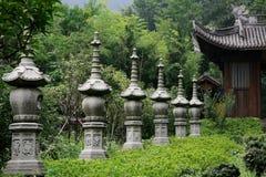 Kinesiska traditionella religioner, buddhism Fotografering för Bildbyråer