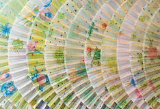 kinesiska ventilatorer Royaltyfria Bilder