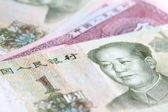 kinesiska yuan Arkivfoto