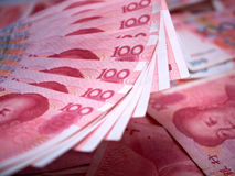 Kinesiska yuan Royaltyfria Foton