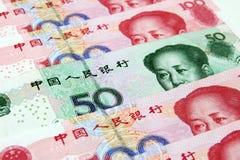kinesiska yuan Arkivbild