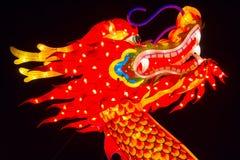 Kinesiskt år för nytt år för kines för lyktafestival nytt Royaltyfria Bilder