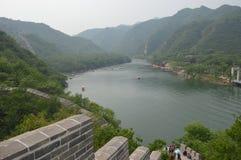 Kinesiskt berglandskap Arkivbild