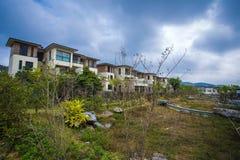 Kinesiskt bostads- område Arkivfoto