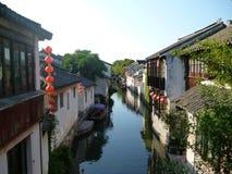 kinesiskt byvatten Royaltyfri Bild