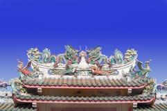 kinesiskt dörrtempel Fotografering för Bildbyråer