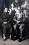 kinesiskt gammalt foto royaltyfria bilder