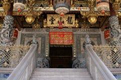 kinesiskt gammalt tempel Arkivfoto