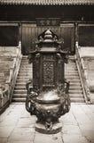 kinesiskt gammalt tempel Arkivbilder