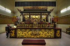 kinesiskt gudtempel för altare Royaltyfria Bilder