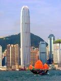 kinesiskt hamnskräp victoria Arkivbilder