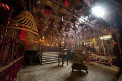 kinesiskt Hong Kong tempel Arkivbild