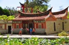 kinesiskt hus Arkivfoton
