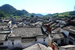 Kinesiskt hus arkivbild