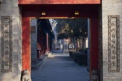 Kinesiskt hus för gammal stil Royaltyfria Bilder
