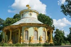 Kinesiskt hus, Sanssouci. Potsdam. Tyskland arkivbilder